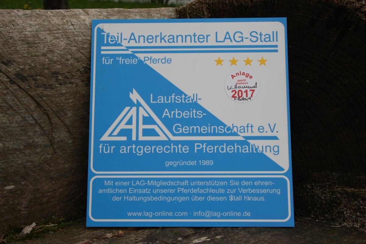 LAG-Zertifizierung